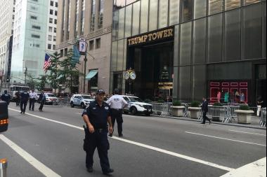 President Donald's Trump home visit will bring street closures around Trump Tower next week.