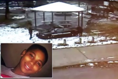 A gazebo from a Cleveland park where 12-year-old Tamir Rice was killed by police will go on display at the Stony Island Arts Bank in August.