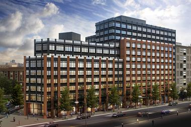 RXR Realty will be developing a 363-unit mixed-use building at 810 Fulton Street.