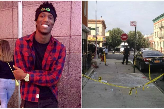 Terrell Henry, left, was gunned down outside 220 Covert St., police said.