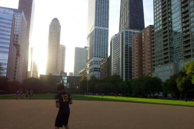 Ald. Brian Hopkins (2nd) wants to remove the softball fields from Lake Shore Park, 808 N. Lake Shore Drive.