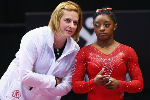 Aimee Boorman, Lane Tech class of 1991, has been Simone Biles' coach since the gymnast was 6 years old.
