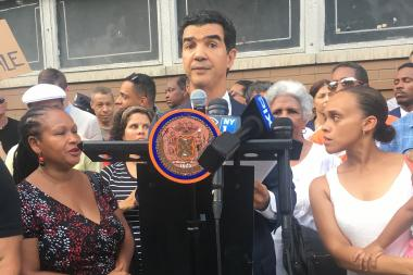 Councilman Ydanis Rodriguez will present his State of the District on Sunday, Oct. 30 at the Salome Urena Campus at 2 p.m.