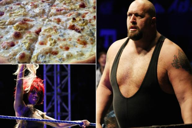WWE stars Alicia Fox and Big Show will attend Artichoke Basille's first ever pizza eating contest on Aug. 20.