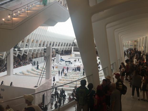The new WTC mall is now open for business.