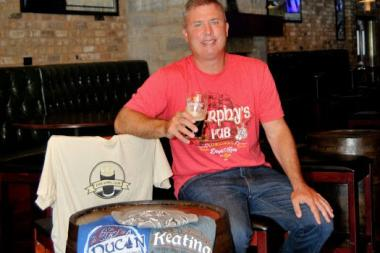 Chicago Fireman Kevin Cremins in the founder of Pub Shirt Club.