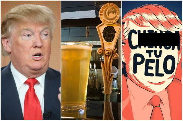 The C----- Tu Pelo beer was originally brewed as a house beer for Trump Towers.