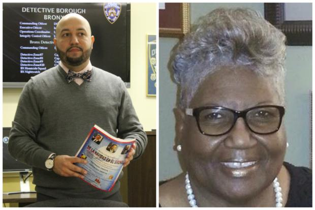 Incumbent City Councilman Rafael Salamanca and retired union leader Helen Foreman-Hines are the only two candidates for the District 17 council seat who have filed disclosures with the Campaign Finance Board so far.
