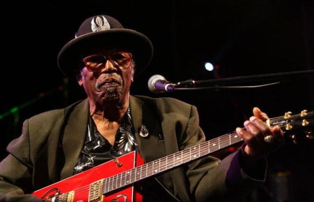 Bo Diddley's music will be heard during the performance.