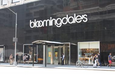 Another shoplifter tried to steal merchandise at Bloomingdale's on Third Avenue on the Upper East Side this week, police said.
