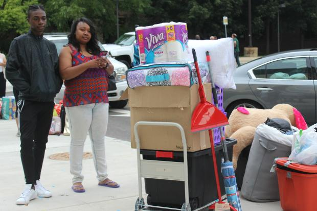 Friday was move-in day for NEIU's first-ever on-campus student residents.