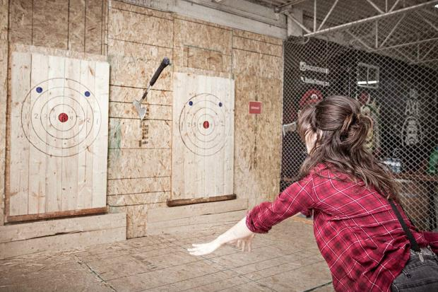 Indoor Axe Throwing Parties (Yes, Axe Throwing) Are Coming To The West Loop  - West Loop - Chicago - DNAinfo