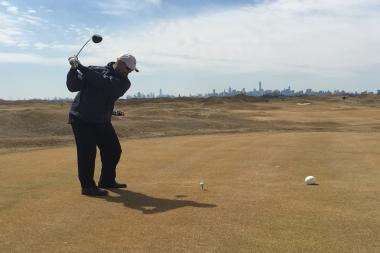 Bronx Borough President Ruben Diaz Jr. played at Donald Trump's Bronx golf course when it opened in April 2015 but said he has been boycotting it since Trump announced his candidacy.