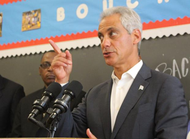 Mayor Rahm Emanuel insists schools