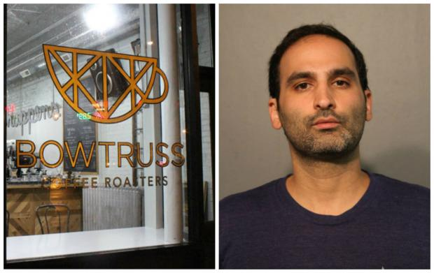 Bow Truss owner Phil Tadros was arrested Thursday night in the 3600 block of North Wayne Avenue in Lakeview, police said.
