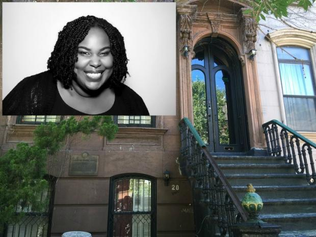 Renee Watson, a children's book author, is leading the effort to preserve Langston Hughes' Harlem brownstone.