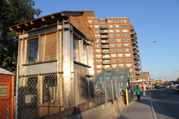 A long-awaited elevator at the Briarwood subway station is slated to be completed by the end of the year, officials said.