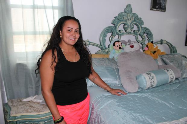 "Bronxite Esther Gonzalez plans to take part in the upcoming video series ""South Bronx Cribs."""