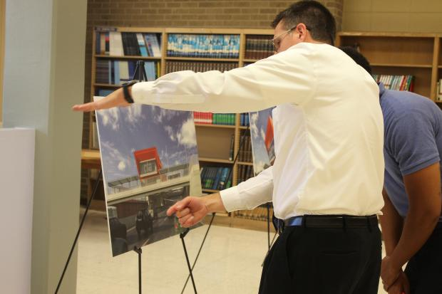 Community members were invited to an open house Thursday to learn about the 95th St. Terminal Improvement Project.
