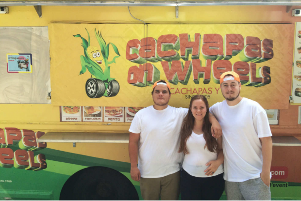 Cachapas on Wheels, known for its Venezuelan fare, is nominated for the Vendy's Awards top prize this year.
