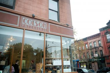 Colson Patisserie's Park Slope location is at Ninth Street and Sixth Avenue.