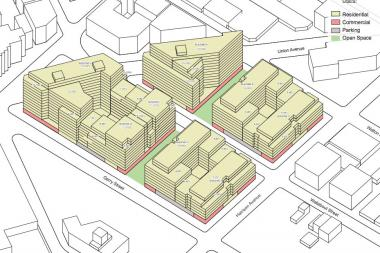 The Rabsky Group'splans for a massiveBroadway Triangle development moving forward.