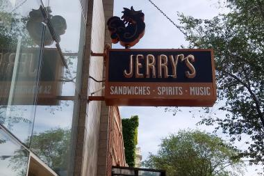 Located at 1938 W. Division St., Jerry's last day in Wicker Park will be Sept. 24.