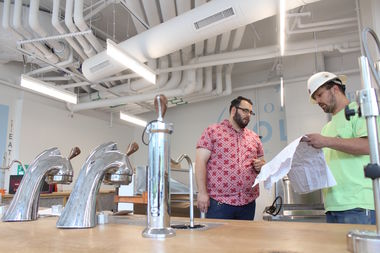 Dollop Coffee is expected to open as early as Tuesday in Hyde Park.