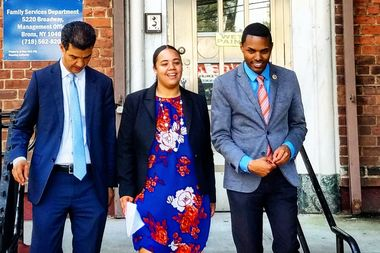 Carmen De La Rosa, who is running for State Assembly for the 72nd District, was endorsed by Bronx Councilman Ritchie Torres, chair of the Council's Committee on Public Housing, on Wednesday morning.