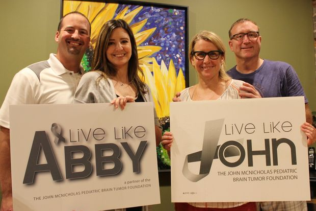 We Are Abby's Army was founded to raise money for the family of the late Abby Wujcik, 8, of suburban Oak Lawn. Her parents, Kevin and Kristyn, have since rebranded the charity as Live Like Abby. The new name represents an alliance with Beverly's John McNicholas Pediatric Brain Tumor Foundation or Live Like John.