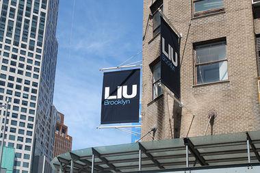 The LIU Brooklyn campus in Downtown Brooklyn.
