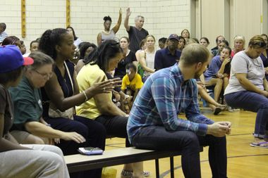 Parents of students at Kellogg Elementary School in Beverly had many questions Tuesday night after a plan to merge with nearby Sutherland Elementary School was revealed by Ald. Matt O'Shea (19th).