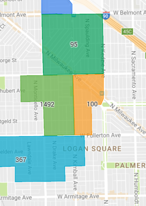 Permit Parking Chicago Map.35th Ward Residents Your Parking Zone Might Be Changing Logan