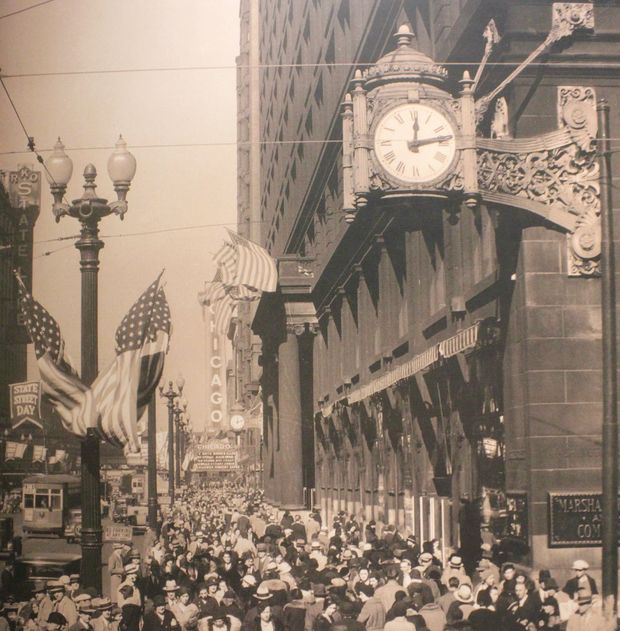 Macys Outlet Chicago: Marshall Field's Lives On At Macy's, 10 Years After The