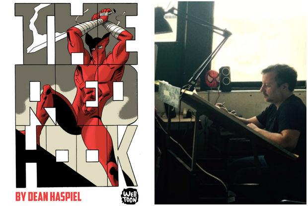Dean Haspiel, whose comic