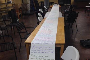 Hyde Park's longest poem will get a full reading on Sept. 17.