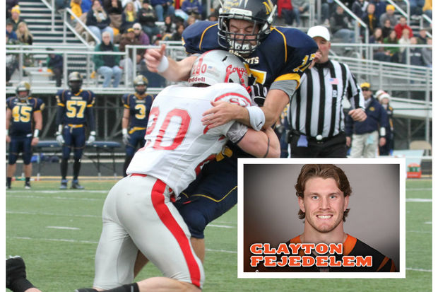 Clayton Fejedelem, a former defensive back at St. Xavier University in Mount Greenwood, has earned a roster spot with the Cincinnati Bengals. Fejedelem was picked at No. 245 out of 253 selections in the 2016 NFL Draft.