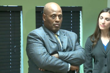 Glenn Evans, a former Chicago Police commander who was accused and acquitted of shoving his gun down a suspect's throat, said his reputation was ruined due to a frame job by the agency tasked with investigating police misconduct.