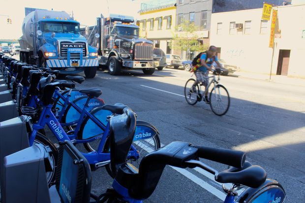 Industrial business owners in Gowanus say Citi Bike docking stations aren't a good fit for Third Avenue, a truck route lined with loading zones.