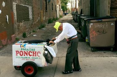 Fidencio Sanchez spends hours selling popsicles each day, usually making just $50-$60.