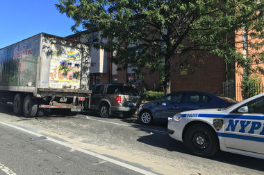 Six people were hurt in a crash near Evergreen Avenue and Gates Avenue, officials said.