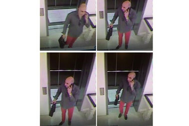 Police say this man stole two rare books valued at $20,000 from PRPH Books on April 16.