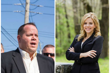 Assemblyman Ron Castorina Jr. (left) will face off again Janine Materna for the Republican nomination in the 62nd Assembly District in the Sep. 13, 2016, primary.
