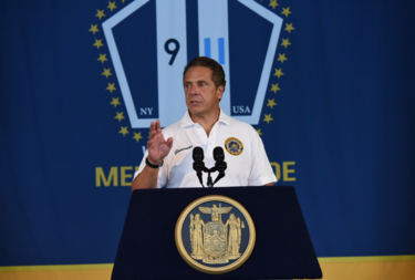 Governor Cuomo announced Sunday that the state will build a 9/11 monument dedicated to first responders and recovery workers in New York City