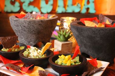 Guac offers 11 varieties of its signature dish, guacamole.