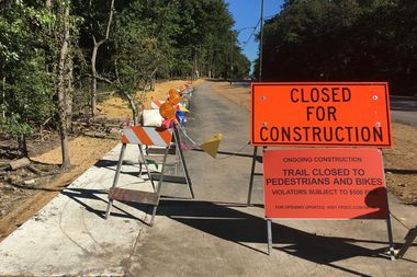 The first phase of the North Branch Trail extension will open Sept. 21, officials said.