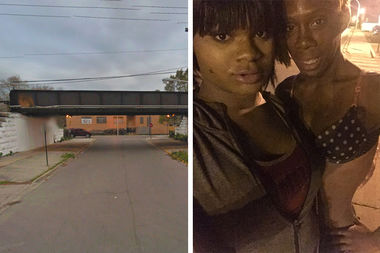 A trans woman whom friends identified as T.T. (right) was found killed at 8:45 p.m. Sunday in the 4500 block of West Monroe Street, according to police.