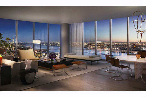 First hudson yards apartments to hit market starting at for Hell s kitchen nyc apartments