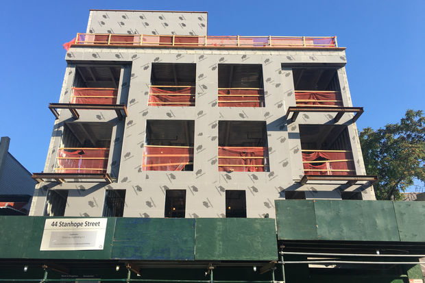 This Bushwick building includes four subsidized apartments for singles and couples making up to $38,100.