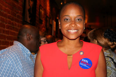 Tremaine Wright, chair of Brooklyn Community Board 3, won the primary election for the 56th Assembly District in Brooklyn Tuesday.
